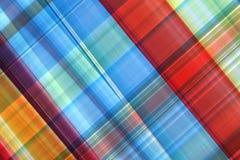 Abstrakcjonistyczny kolorowy szkocka krata Obrazy Royalty Free