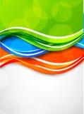 Abstrakcjonistyczny kolorowy tło Obraz Stock