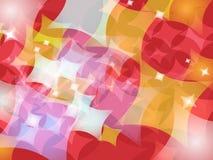 Abstrakcjonistyczny kolorowy tło projekt royalty ilustracja