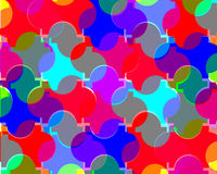Abstrakcjonistyczny kolorowy tło projekt Obrazy Stock