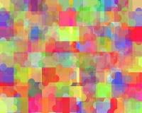 Abstrakcjonistyczny kolorowy tło projekt Zdjęcia Royalty Free