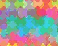 Abstrakcjonistyczny kolorowy tło projekt Zdjęcie Stock