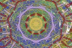 Abstrakcjonistyczny kolorowy tło w sztuka stylu zdjęcie royalty free