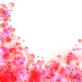 Abstrakcjonistyczny kolorowy tło. Walentynka dzień. Zdjęcie Stock