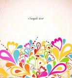 Abstrakcjonistyczny kolorowy tło. Wektorowa ilustracja Obrazy Royalty Free