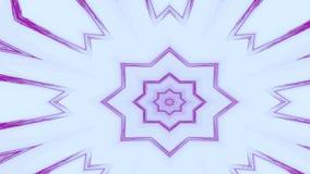 Abstrakcjonistyczny kolorowy tło z poligonalną gwiazdą kształtował geometrycznego projekt i linie ilustracji