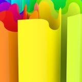 Abstrakcjonistyczny kolorowy tło Zdjęcie Stock