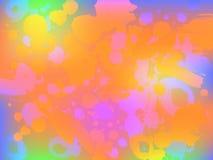 Abstrakcjonistyczny kolorowy tło Ilustracja Wektor