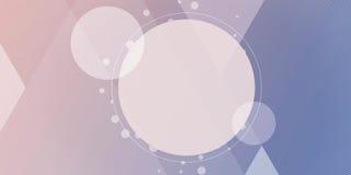 Abstrakcjonistyczny kolorowy tło, geometryczny niski poli- styl Zdjęcie Stock