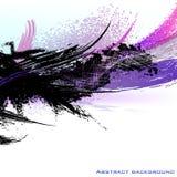 Abstrakcjonistyczny kolorowy tło. Wektorowa ilustracja. Obraz Royalty Free