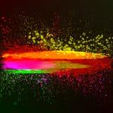 Abstrakcjonistyczny kolorowy tło. Wektorowa ilustracja. Obrazy Stock