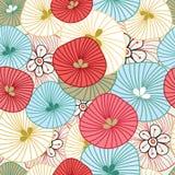 abstrakcjonistyczny kolorowy wzór Obraz Stock