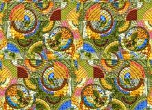 Abstrakcjonistyczny kolorowy wzoru marmuru skutek royalty ilustracja