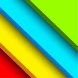 Abstrakcjonistyczny koloru bloku tło Obrazy Royalty Free