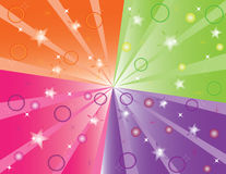 abstrakcjonistyczny koloru ilustraci produkt ilustracji