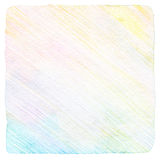 Abstrakcjonistyczny koloru ołówka tło Zdjęcie Stock