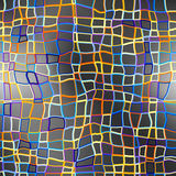 Abstrakcjonistyczny koloru wzór na szarym tle Fotografia Royalty Free