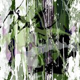 Abstrakcjonistyczny koloru wzór w graffiti projektuje ilości wektorową ilustrację dla twój projekta ilustracja wektor