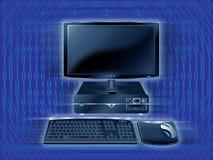 abstrakcjonistyczny komputer Zdjęcia Royalty Free