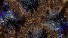 Abstrakcjonistyczny komputer wytwarzający Fractal projekt zdjęcia royalty free