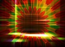 Abstrakcjonistyczny komputerowy tło dla projekta Obraz Stock