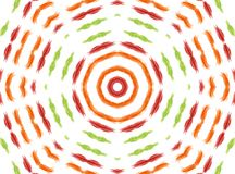 Abstrakcjonistyczny koncentryczny wzór Fotografia Stock