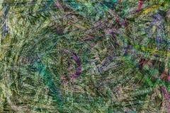Abstrakcjonistyczny konceptualny kolorowy grunge lub szorstki narzuta filtra skutek Dla graficznego projekta, t?a lub tekstury, ilustracja wektor