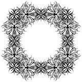 abstrakcjonistyczny konturu ramy wzór Fotografia Royalty Free