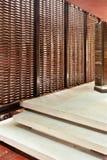 Abstrakcjonistyczny korytarza wnętrze zdjęcia stock