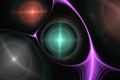 Abstrakcjonistyczny kosmosu fractal Zdjęcie Stock