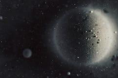 Abstrakcjonistyczny kosmosu tło Fotografia Stock