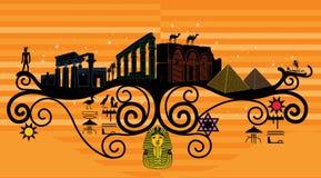 Abstrakcjonistyczny kraj, symbolizm kraj Obraz Royalty Free
