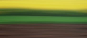 abstrakcjonistyczny krajobraz Fotografia Stock