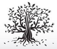 abstrakcjonistyczny kreatywnie drzewo Zdjęcia Stock