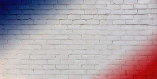 Abstrakcjonistyczny kreatywnie patriotyczny tło obrazy stock
