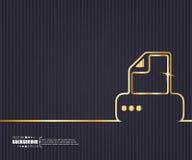 Abstrakcjonistyczny Kreatywnie pojęcie wektoru tło Dla sieci i wiszącej ozdoby zastosowań, ilustracyjny szablonu projekt, biznes Fotografia Stock