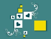 abstrakcjonistyczny kreatywnie projekt Zdjęcia Stock
