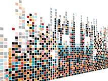 abstrakcjonistyczny kreatywnie projekt dotes muzyka Zdjęcie Stock