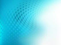 Abstrakcjonistyczny kropka projekta błękitnej zieleni tło Fotografia Stock