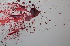 Abstrakcjonistyczny krwionośny odpryśnięcia grunge tło Obraz Royalty Free