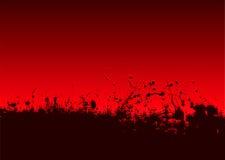 abstrakcjonistyczny krwionośny splat Zdjęcie Royalty Free