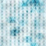 Abstrakcjonistyczny krystaliczny bezszwowy tło Zdjęcie Stock