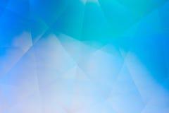 Abstrakcjonistyczny krystaliczny refrakci tło Obrazy Stock