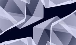abstrakcjonistyczny kryształ Obraz Stock