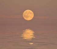 abstrakcjonistyczny księżyc w pełni Obraz Royalty Free