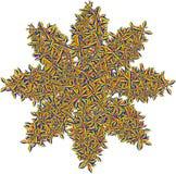 Abstrakcjonistyczny kształt Kolorowa wyplatająca gmatwanina Abstrakcjonistyczny pogmatwanie ilustracji