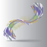 Abstrakcjonistyczny kształt 03 Zdjęcia Stock