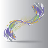 Abstrakcjonistyczny kształt 03 Royalty Ilustracja