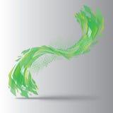Abstrakcjonistyczny kształt 04 Obraz Stock