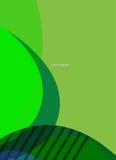 Abstrakcjonistyczny kształt upraszcza Obraz Stock